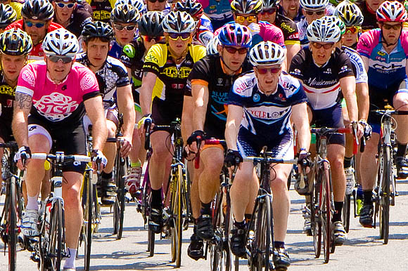 Cat 4 Peleton 17th Sterling Classic 2011
