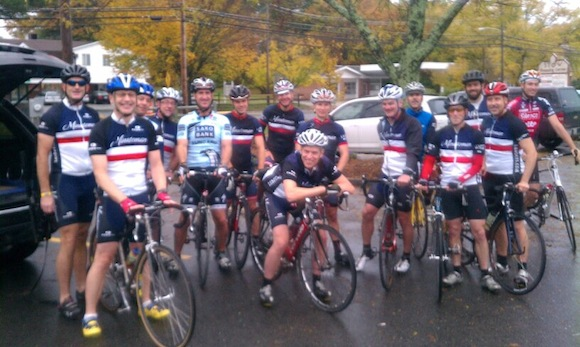 Ride for Tom Ball group.